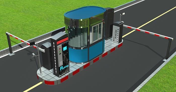 x6系列标配自动停车收费系统(带岗亭)
